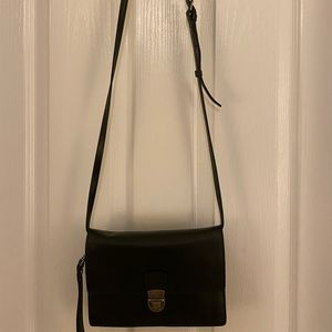 Patrick Nash black leather crossbody